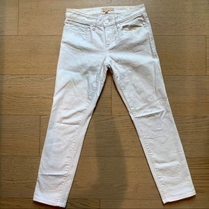 TORY BURCH White Skinny Jeans